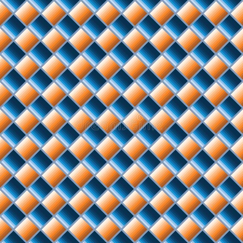 Fondo inconsútil abstracto adornado elegante ilustración del vector