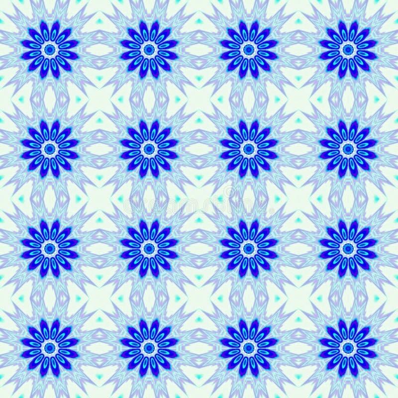 Fondo inconsútil abstracto azul del modelo libre illustration