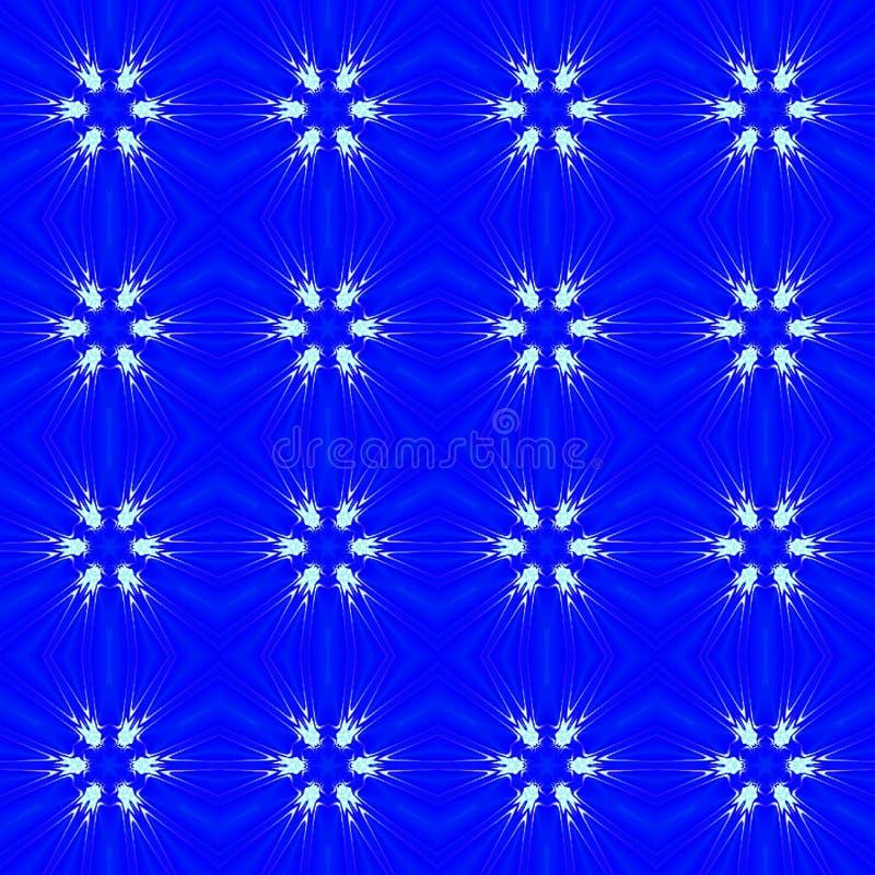 Fondo inconsútil abstracto azul del modelo stock de ilustración