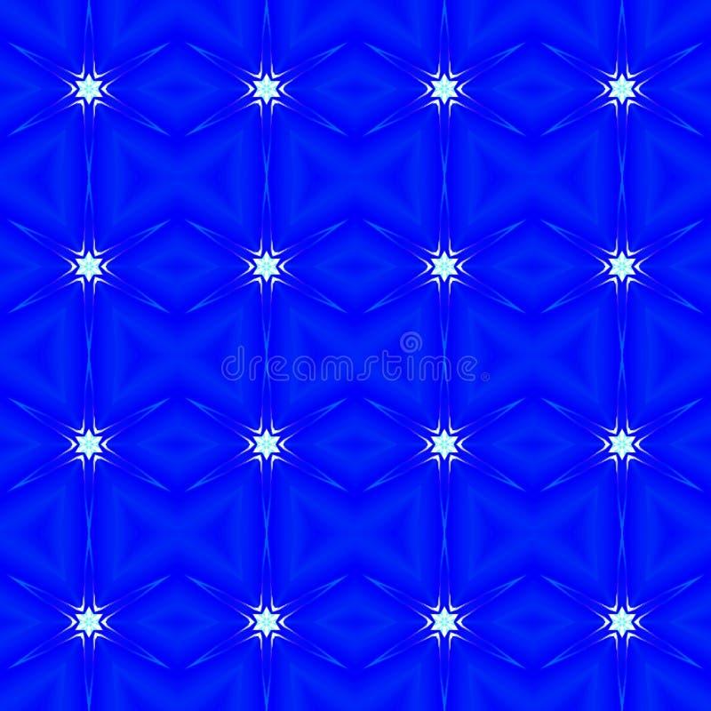 Fondo inconsútil abstracto azul del modelo ilustración del vector