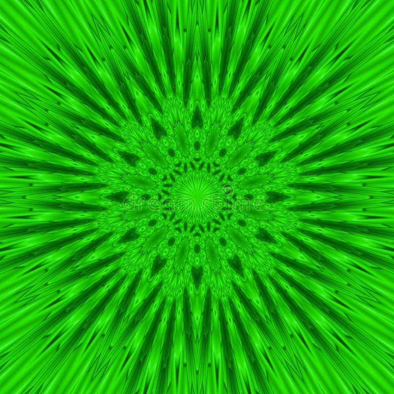Fondo inconsútil abstracto de figuras verdes libre illustration