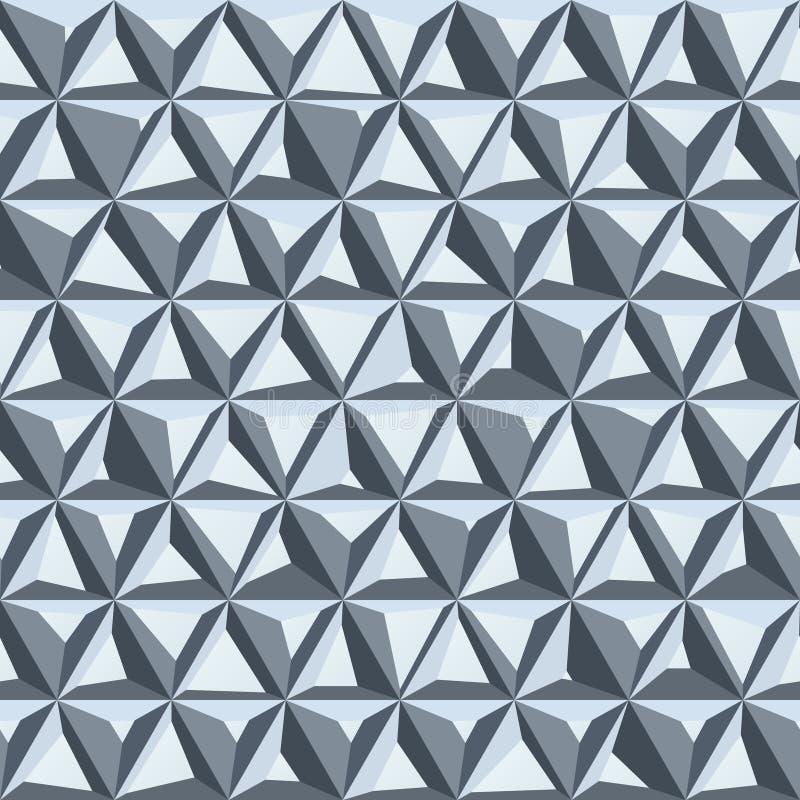 Fondo inconsútil abstracto del polígono ilustración del vector
