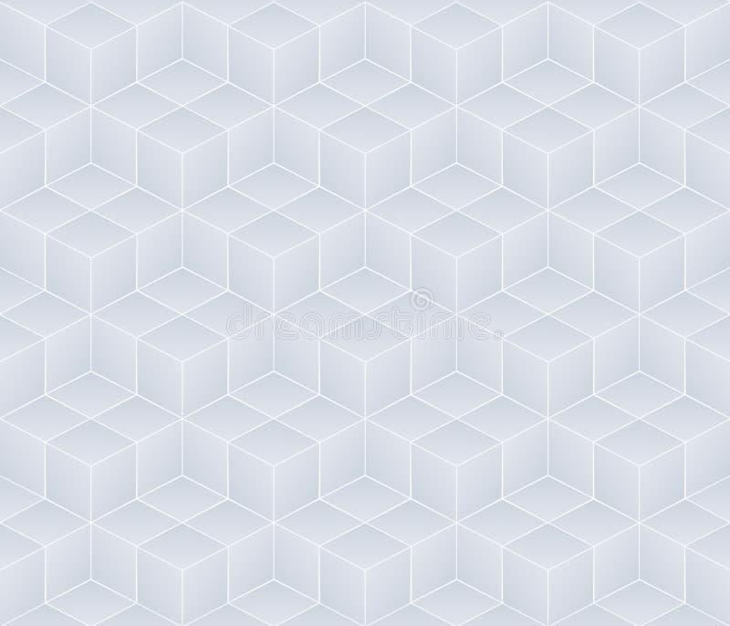 Fondo inconsútil blanco ilustración del vector