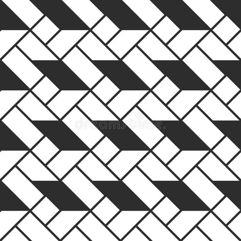 Fondo inconsútil coloreado abstracto a cuadros de los triángulos Ilustración del vector stock de ilustración