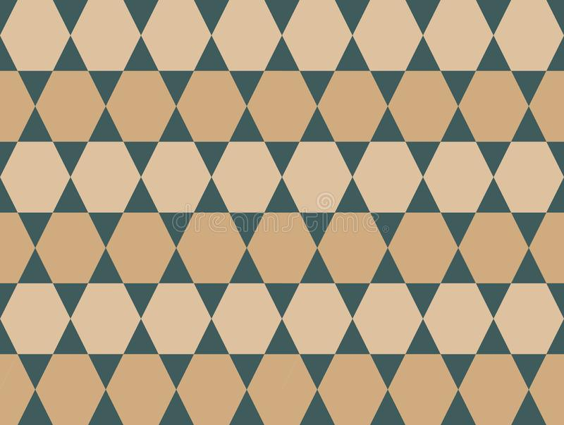 Fondo inconsútil coloreado neutral del modelo de las formas geométricas del vector imagenes de archivo