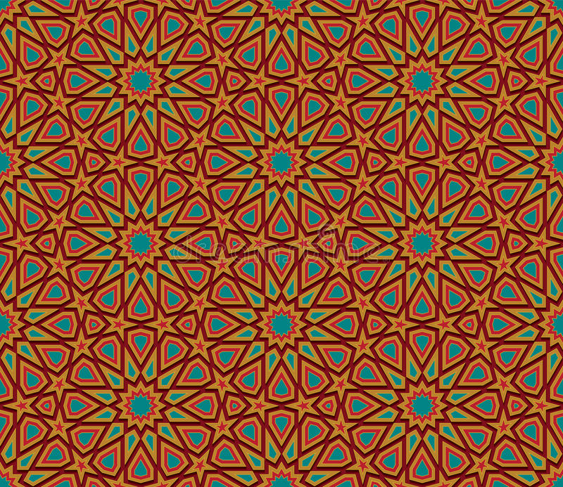 Fondo inconsútil colorido geométrico abstracto libre illustration