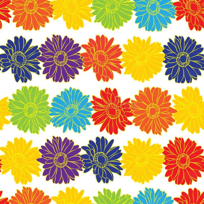 Fondo inconsútil de la impresión floral del vintage libre illustration