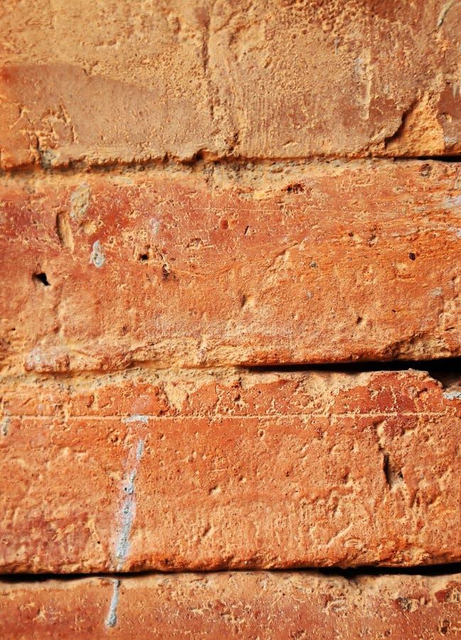 Fondo inconsútil de la pared de ladrillo roja foto de archivo libre de regalías