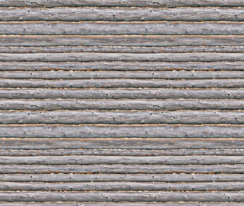 Fondo inconsútil de la pared de madera del blocao fotografía de archivo libre de regalías