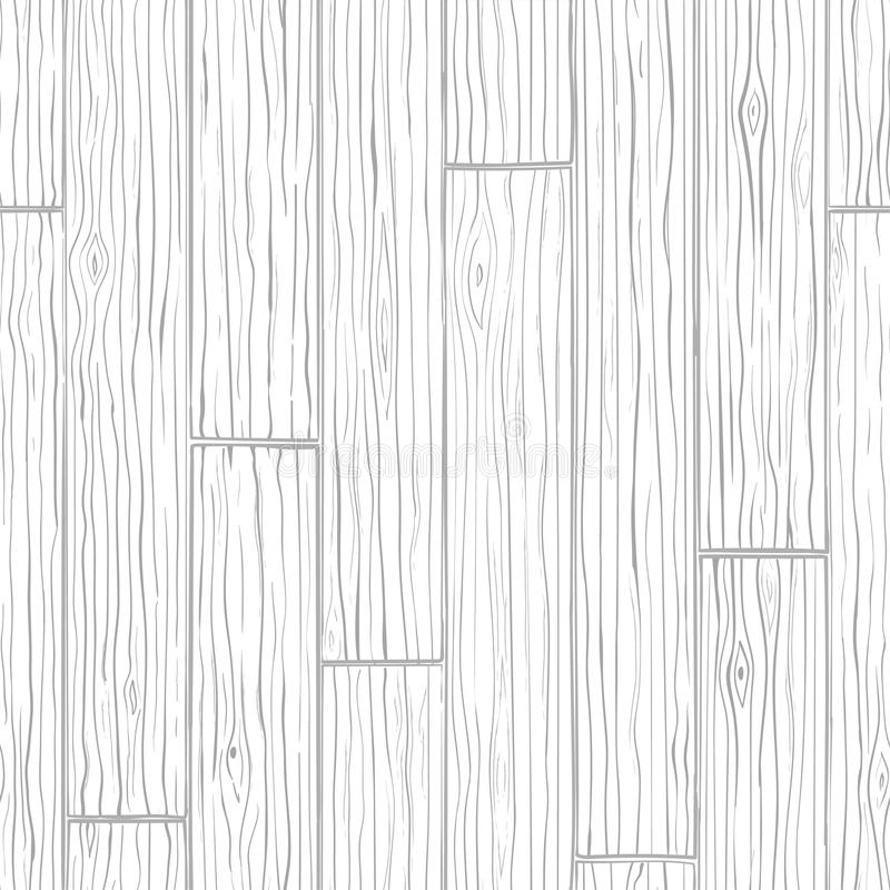Fondo inconsútil de la textura de madera Modelo gris del vector libre illustration