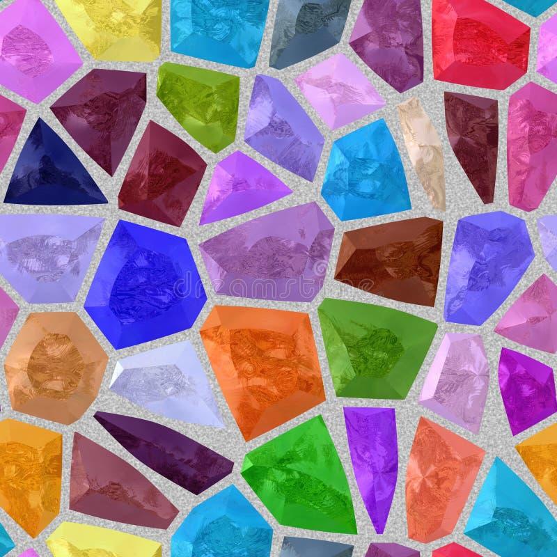 Fondo incons til de la textura del modelo del mosaico del color en colores pastel stock de - Mosaico de colores ...