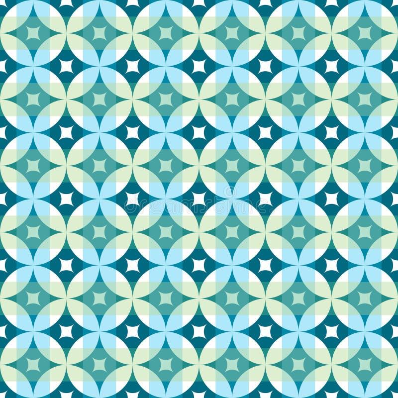 Fondo inconsútil de la vendimia del modelo geométrico abstracto del papel pintado libre illustration