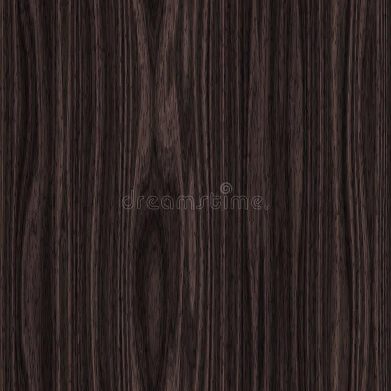 Fondo inconsútil de madera de la textura ilustración del vector