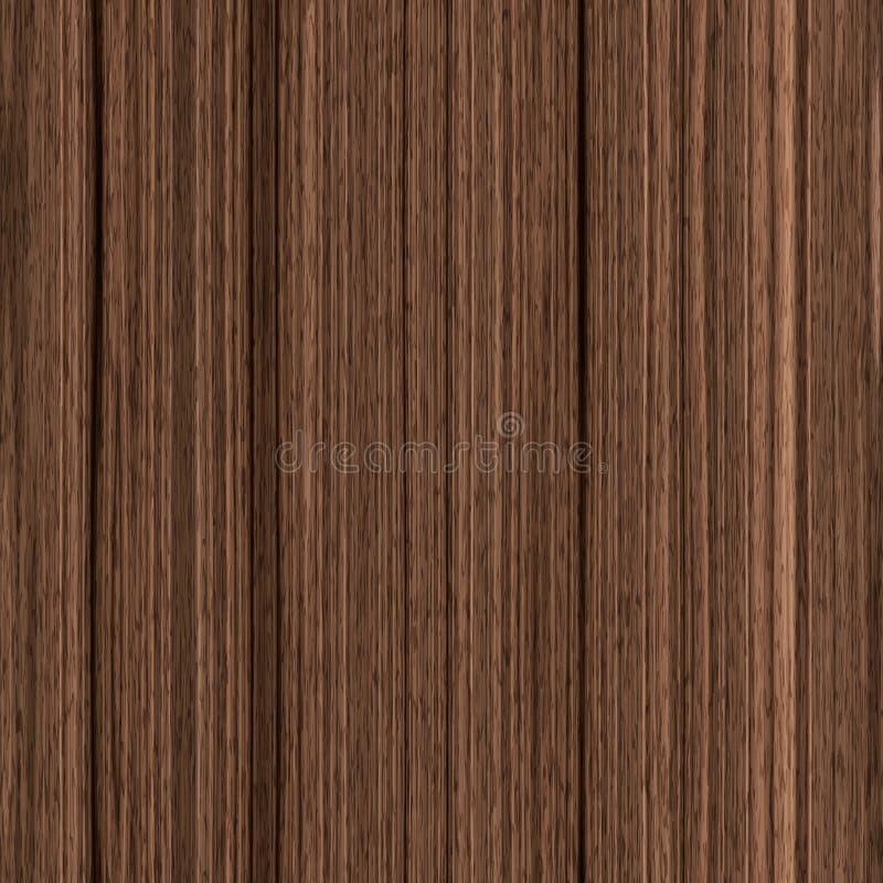 Fondo inconsútil de madera de la textura stock de ilustración