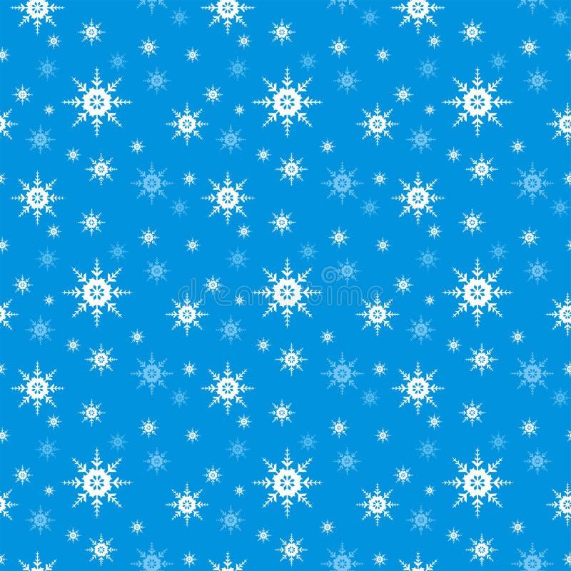 Fondo inconsútil del copo de nieve fotografía de archivo libre de regalías