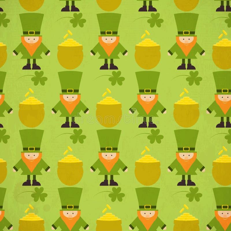 Fondo inconsútil del día de St.Patricks ilustración del vector