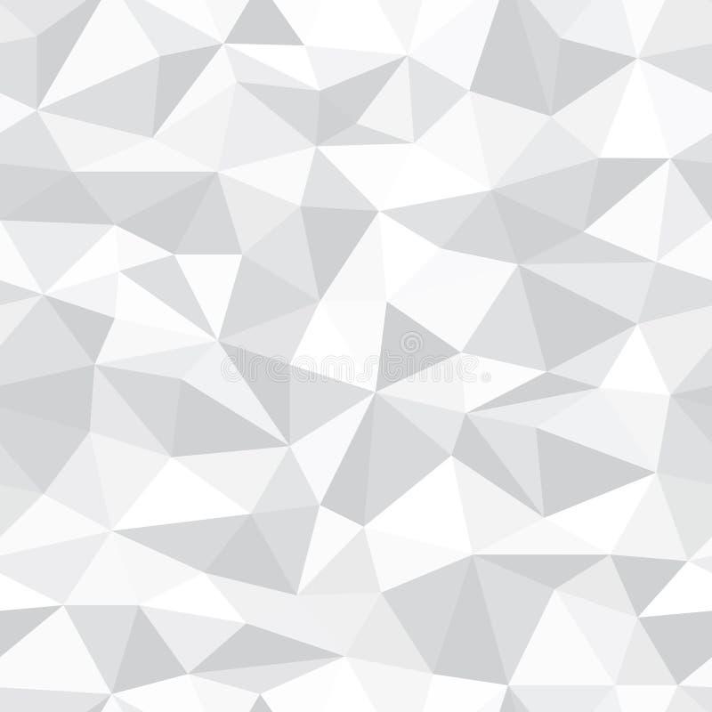 Fondo inconsútil del extracto del polígono del vector libre illustration