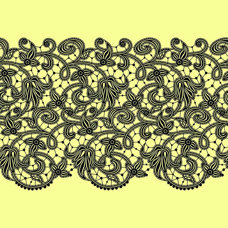 Fondo inconsútil del modelo de la cinta del cordón stock de ilustración