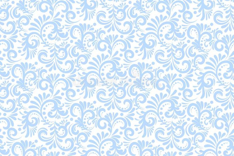 Fondo inconsútil del modelo de la flor del vector Textura elegante para los fondos Floral pasado de moda de lujo clásico libre illustration