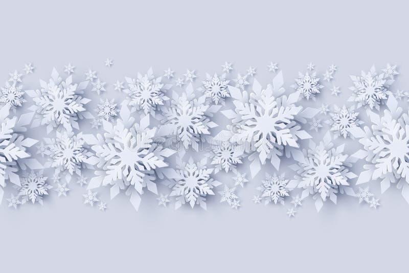 Fondo inconsútil del modelo de la Navidad del vector y de la Feliz Año Nuevo stock de ilustración