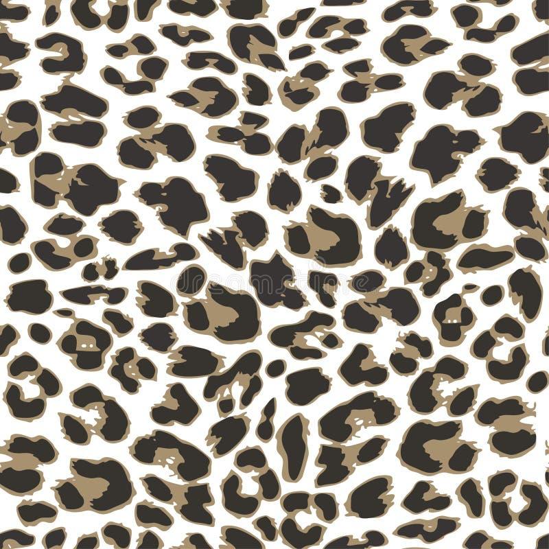 Fondo inconsútil del modelo del leopardo, libre illustration