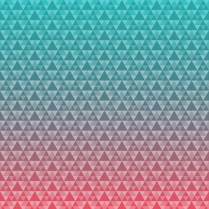 Fondo inconsútil del modelo del triángulo libre illustration