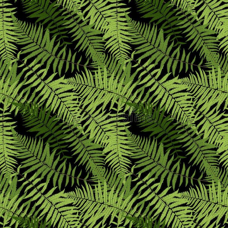 Fondo inconsútil del modelo del vector de Fern Leaf Vector Fern Leaf libre illustration
