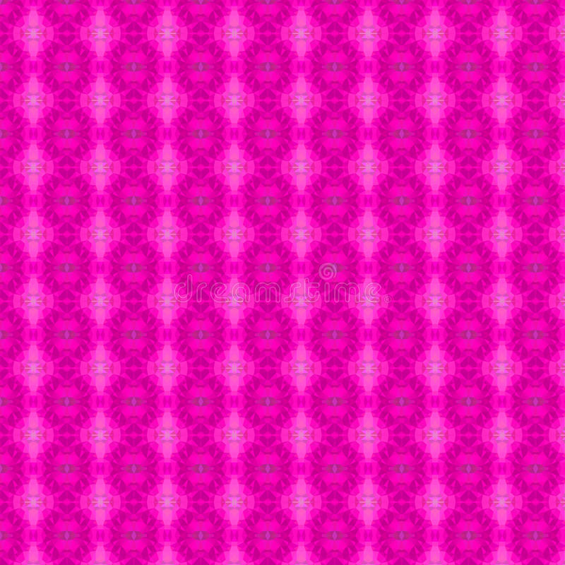 Fondo inconsútil del polígono rosado libre illustration