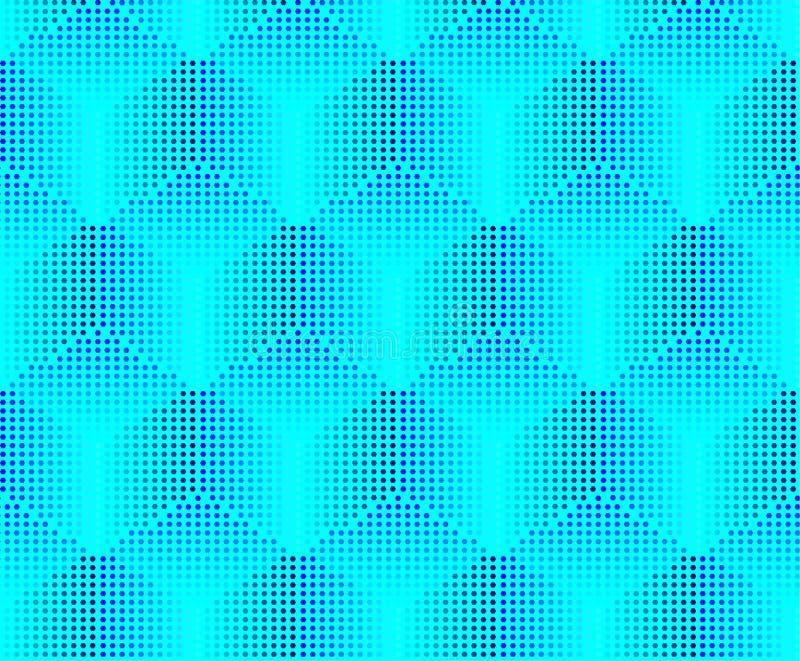 Fondo inconsútil del volumen de los pixeles ilustración del vector