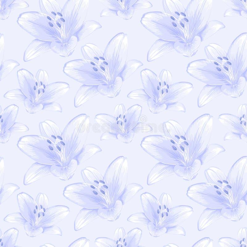 Fondo inconsútil floral. ilustración del vector