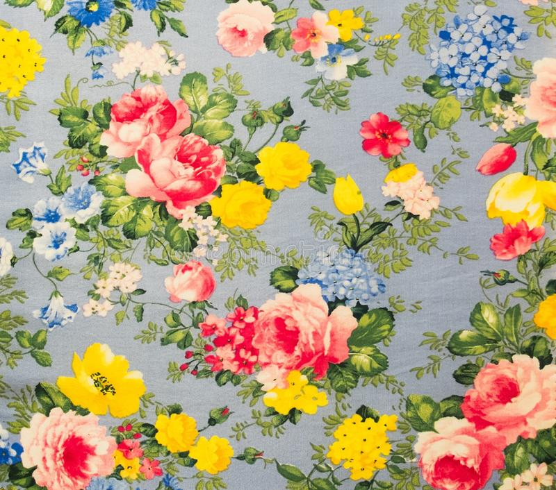 Fondo inconsútil floral de la tela del modelo del cordón retro foto de archivo libre de regalías