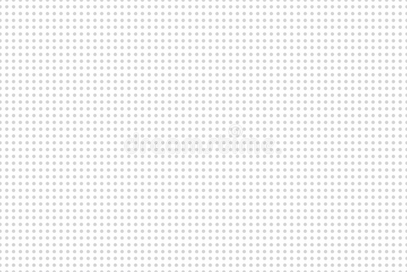 Fondo incons?til de Minimalistic El fondo se llena de los c?rculos en la distancia igual Textura geom?trica vers?til ilustración del vector