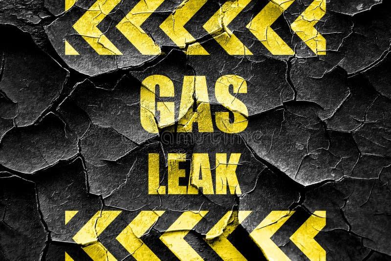 Fondo incrinato della fuga di gas di lerciume royalty illustrazione gratis