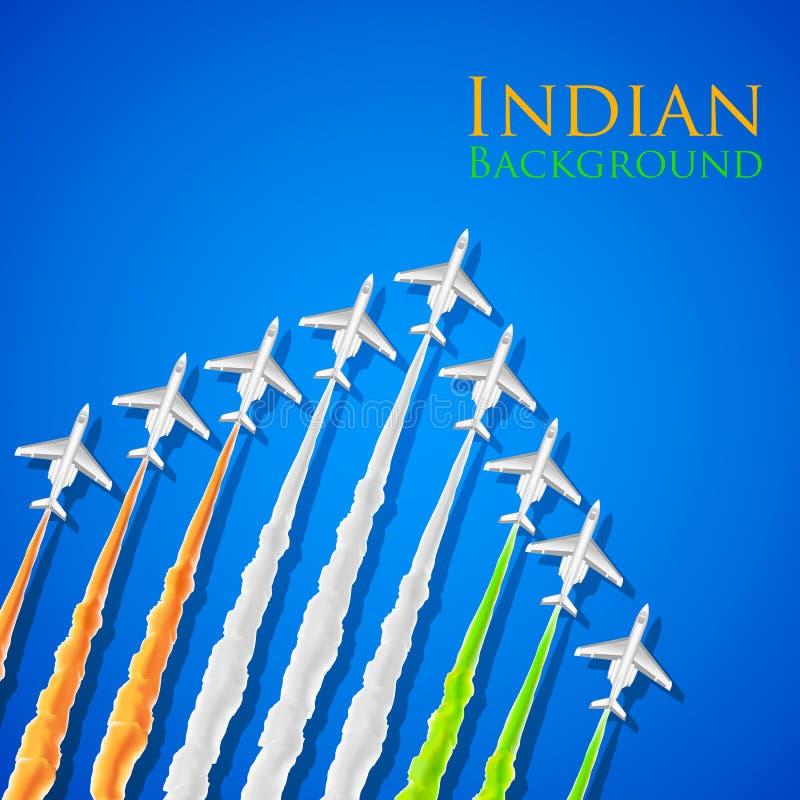 Fondo indio stock de ilustración