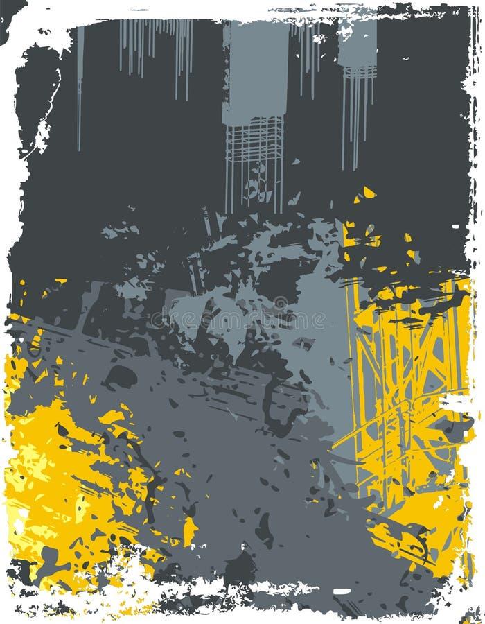 Fondo industrial libre illustration