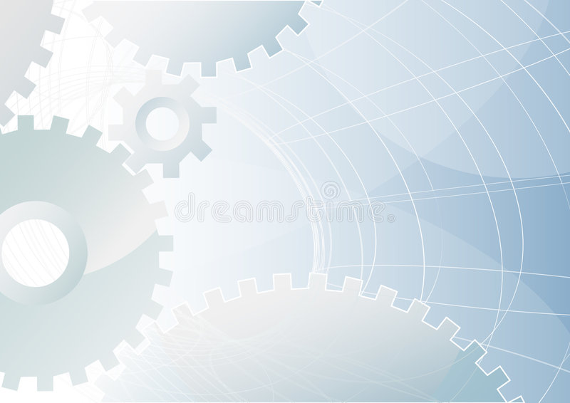 Fondo industrial de la tecnología ilustración del vector