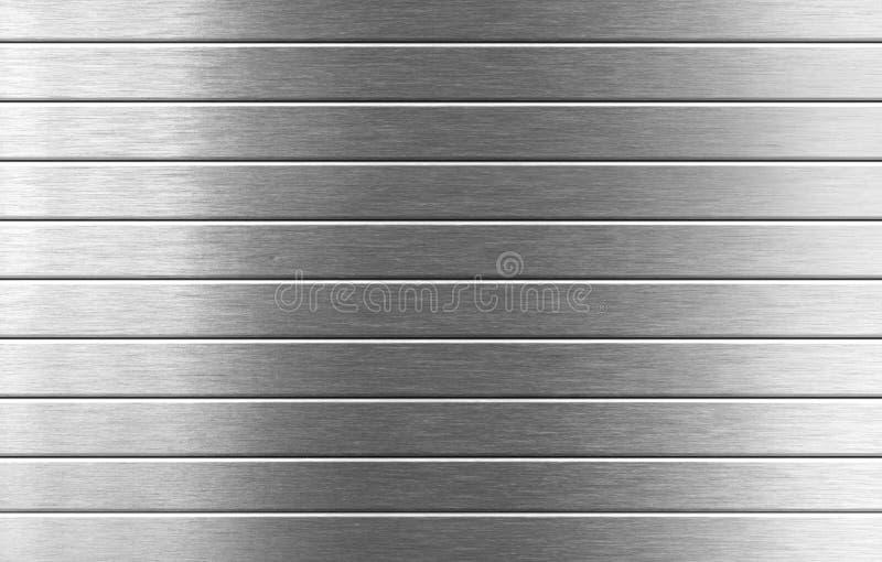 Fondo industrial del metal de plata imagen de archivo