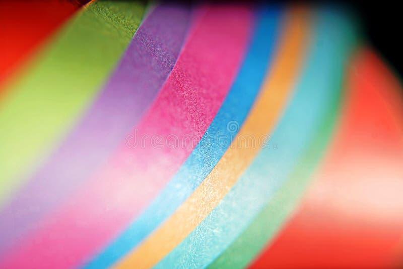 Fondo ingenioso y abstracto del papel colorido imagenes de archivo