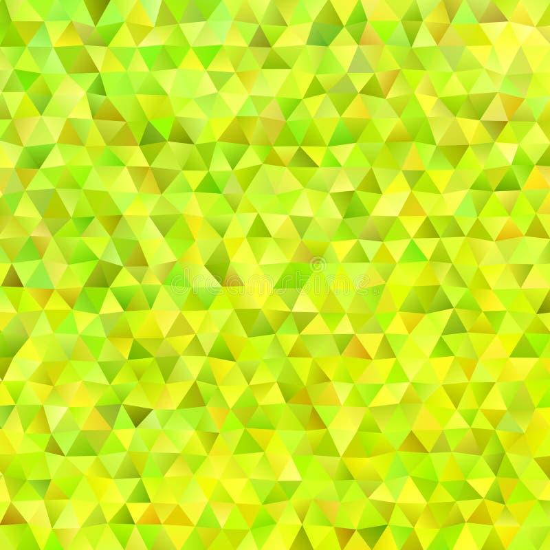 Fondo irregular retro del polígono del triángulo libre illustration