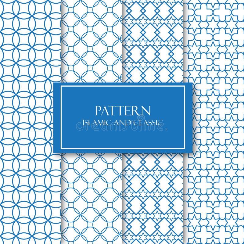 Fondo islámico y clásico Pattren libre illustration