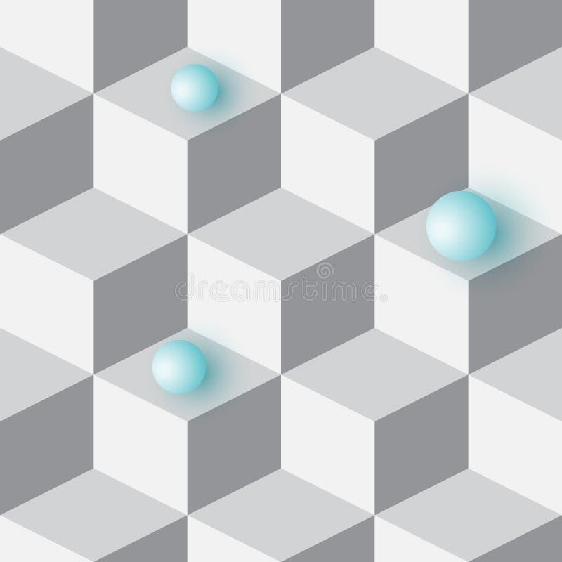 Fondo isométrico 3d libre illustration