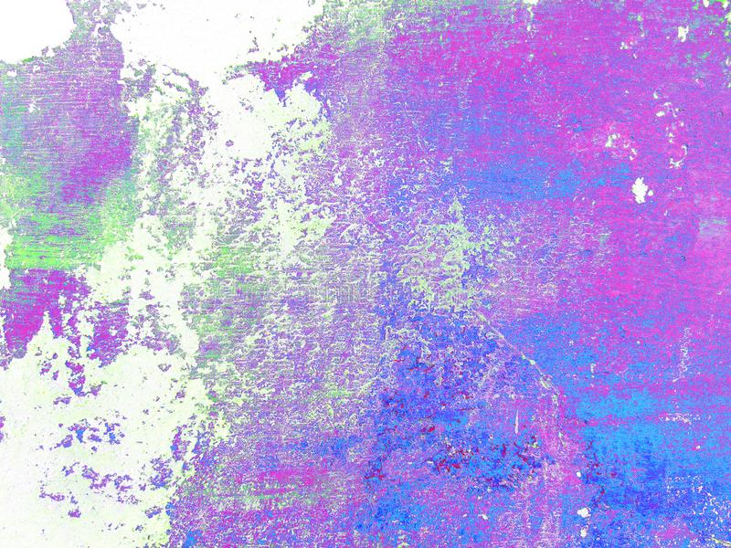 Fondo italiano multicolor del estuco del extracto Textura colorida en el fondo blanco foto de archivo