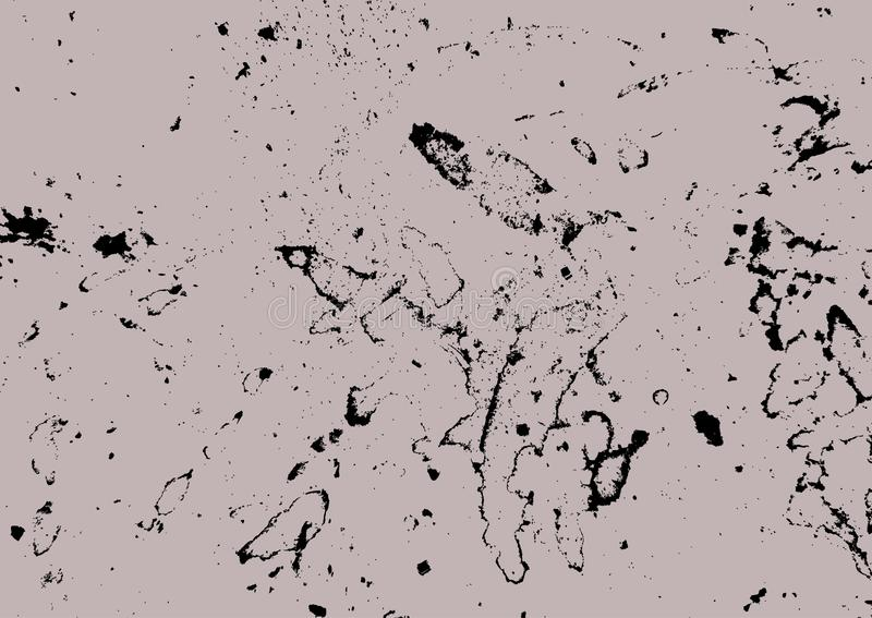 Fondo lamentable Textura de Grunge Contexto áspero Ilustración del vector libre illustration