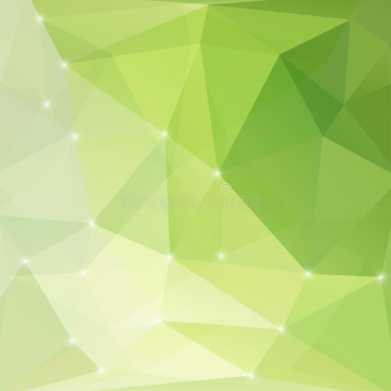 Fondo leggero astratto verde moderno royalty illustrazione gratis