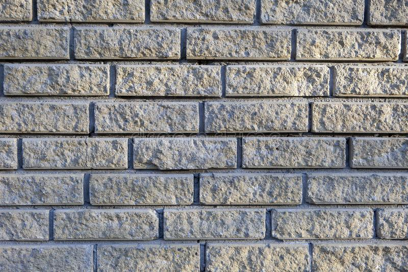 Fondo leggero del muro di mattoni immagini stock