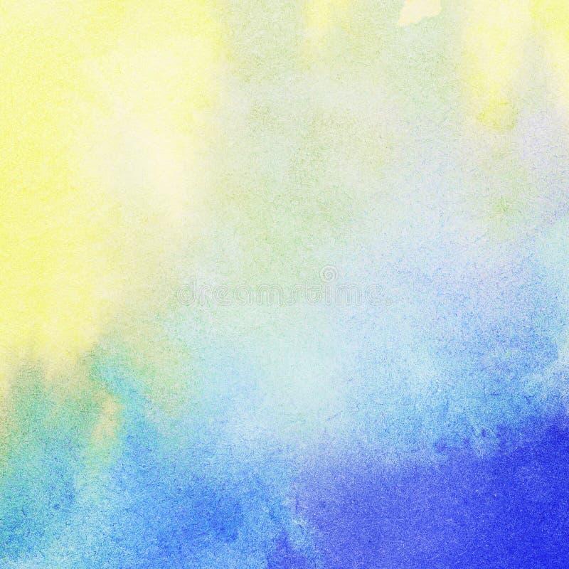 Fondo leggero dell'acquerello dipinto estratto royalty illustrazione gratis