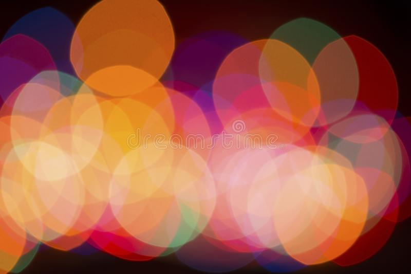 Fondo ligero abstracto fotografía de archivo libre de regalías