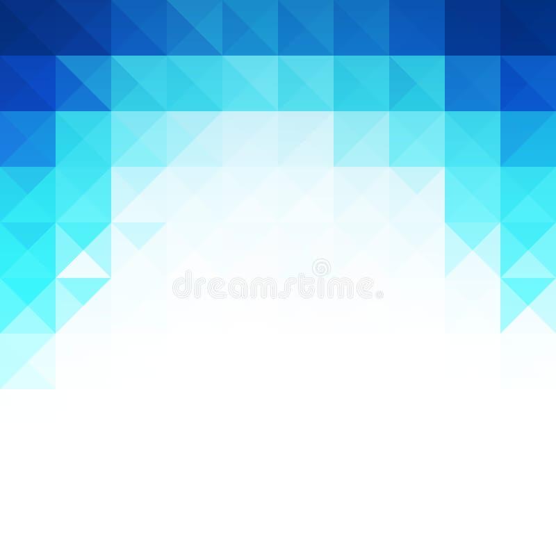 Fondo ligero azul abstracto de la plantilla libre illustration