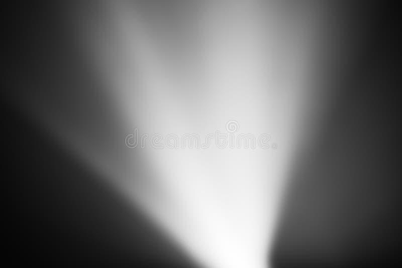 Fondo ligero blanco y negro diagonal del bokeh del escape stock de ilustración