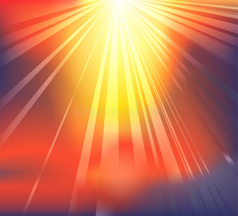 Fondo ligero celeste ilustración del vector